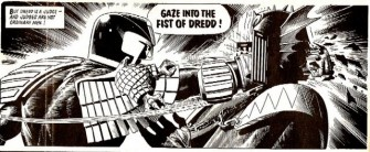 tom frame whose distinct lettering for decades on the judge dredd series in 2000ad made him a largely unsung but vital part of a cultural phenomenon and