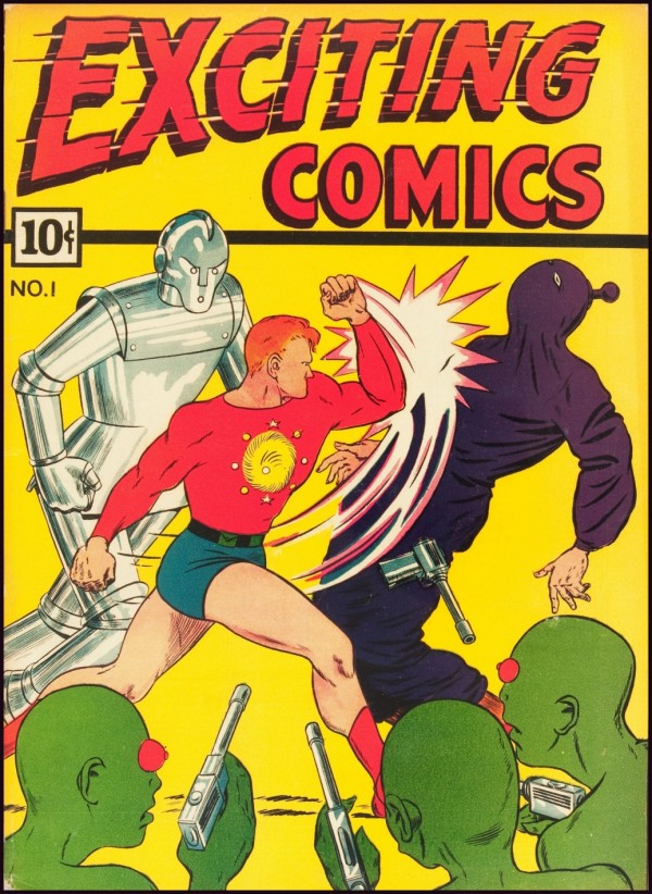 3rd Series Higher Grade E-Man #1 Alternative Superhero Comico 1989 Indie