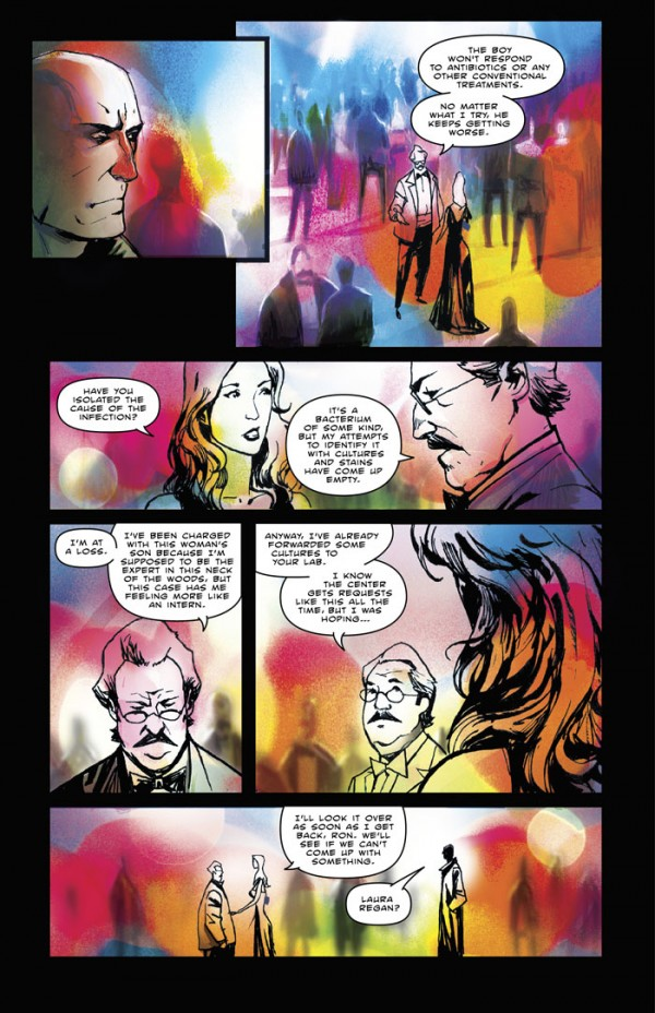 The comics reporter spurgeon another thing that kind of leaps out is the use of color limited at times wildly expressive and kind of swirling at others fandeluxe Gallery