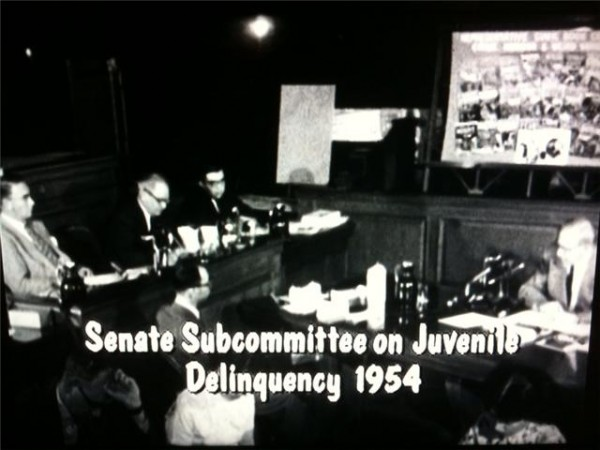 Senate Subcommittee on Juvenile Delinquency 1954